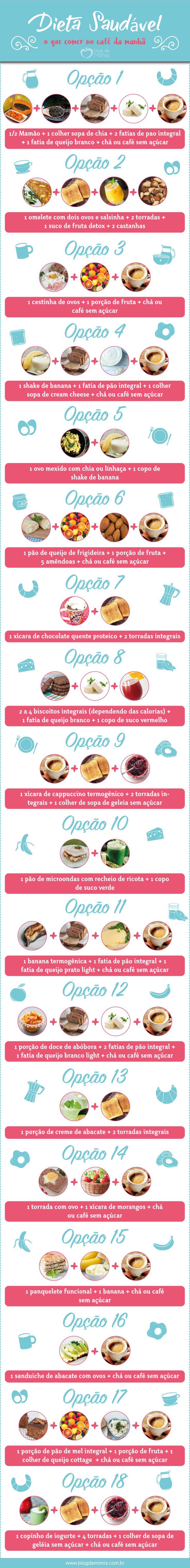 Dieta saudável: o que comer no café da manhã - Blog da Mimis #emagrecer #dieta #cardápio #cafédamanhã #breakfast #diet #menu #loseweight