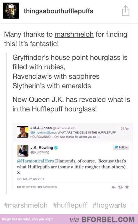 Diamonds For Hufflepuff…