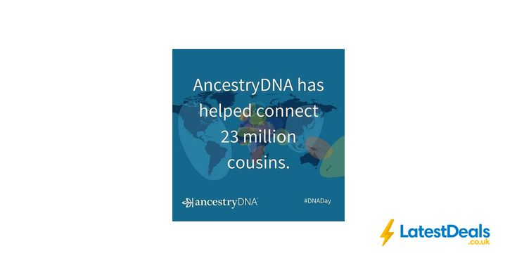 SAVE 25% at AncestryDNA Only £59* Was £79