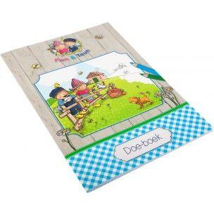 Fien & Teun doe-boek met leuke kleurplaten, puzzels en spelletjes  http://www.blauwlifestyle.nl/nl/lief-fien-teun-doe-boek.html