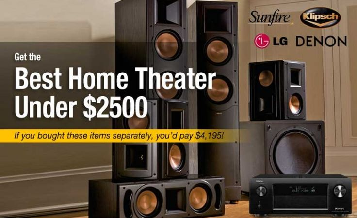 Best home theater for under $2500