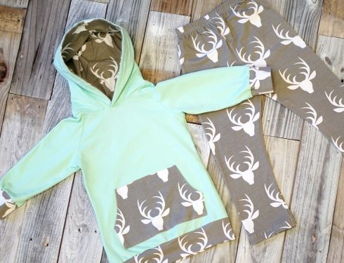 Up to 72% off retail! Calling all outdoors lovers! Our new Aqua Deer Hoodie Set is simply darling for both girls and boys!Preorder now and it'll be in just in time for fall and back to school! Available Sizes (we recommend youorder up): 0-6 months 6-12 months 12-18 months 2T 3T 4T 5/6 6/7 (+$3.00) 7/8 (+$3.00) 8/9 (+$3.00) Why do larger sizes cost more? Sometimes a product requiring a lot of fabric will cost more in supplies and postage. Rather than increase our prices across the…