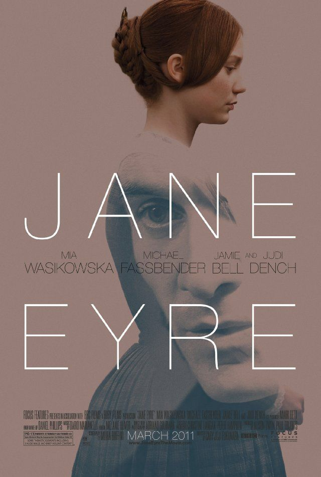 Jane Eyre. I thought I was goning to love this movie, but I think its not my style. Its a cute love story, and I really liked Jane, but in my opinion it moves too slow and I couldnt really connect with the movie. Its still worth watching.