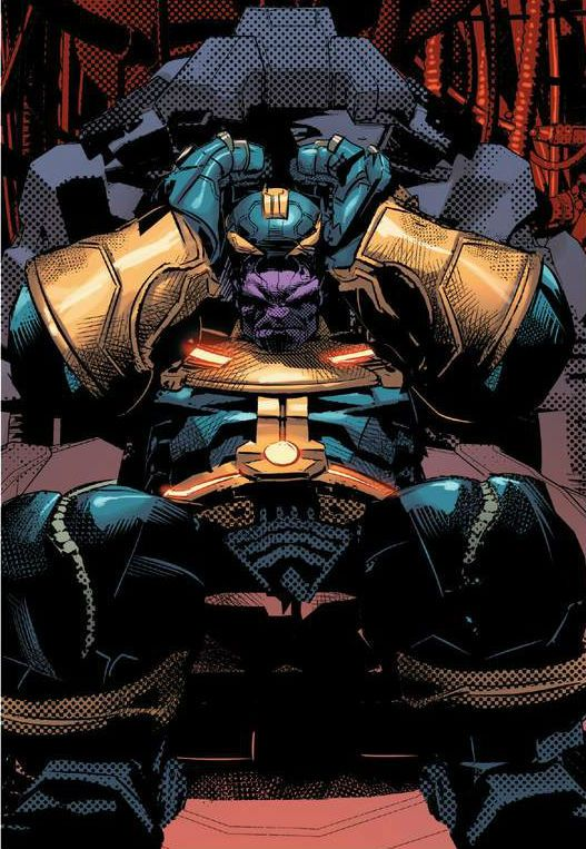 Thanos by Mike Deodato