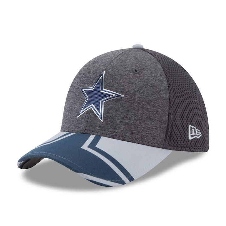 Men s Dallas Cowboys New Era Graphite NFL Spotlight 39THIRTY Flex ... 2d96a2652