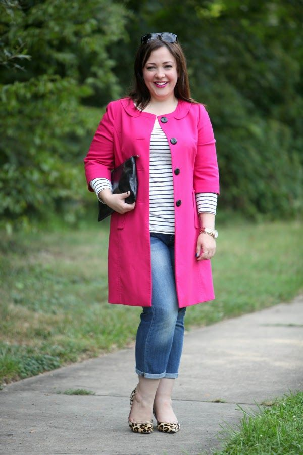 Curvy Outfit – All Style With Breton Stripes