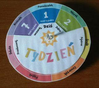Tydzień ~ Zamiast kserówki. Edukacyjne gry i zabawy dla dzieci.