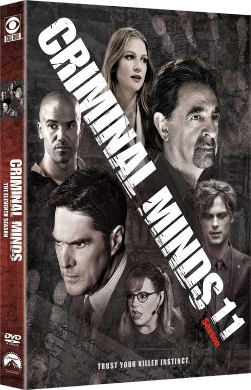 Criminal Minds season 11 DVD วางจำหน่าย 30 August 2016
