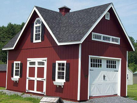 Garages, Double Wide and Two Story Garages For Sale | Livingston Farm - Vermont