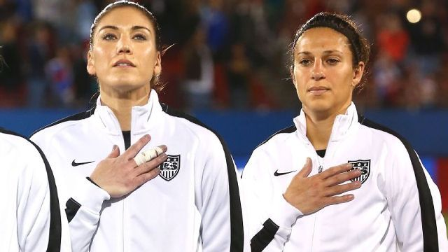 Women's national team files wage-discrimination action vs. US Soccer Federation