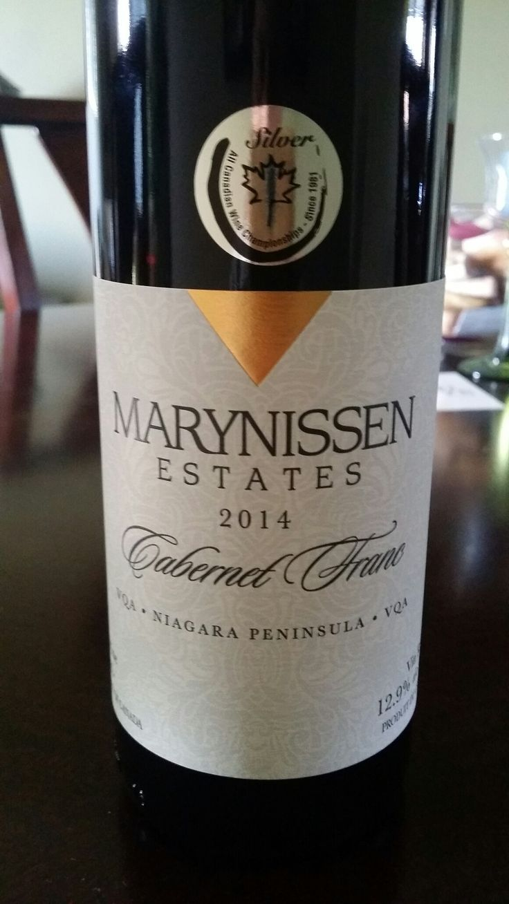 Picked up this beauty today at Marynissen Estates Winery. So good! #thewineboys #wine #niagara #buylocal