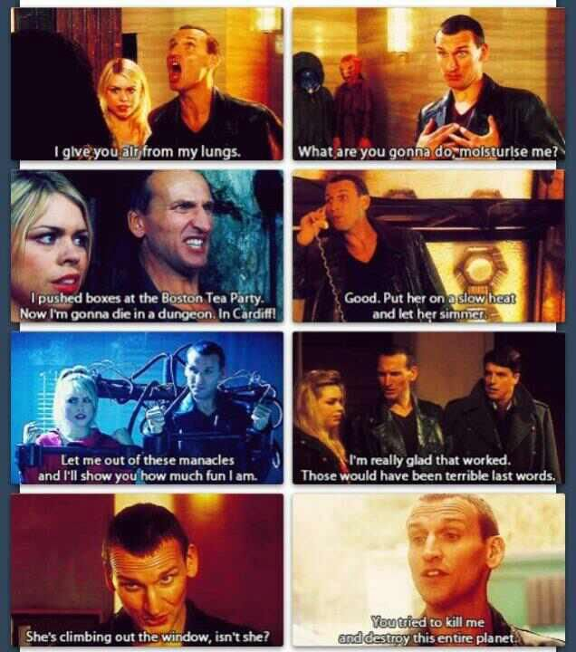 9th Doctor doesn't get the credit he deserves.