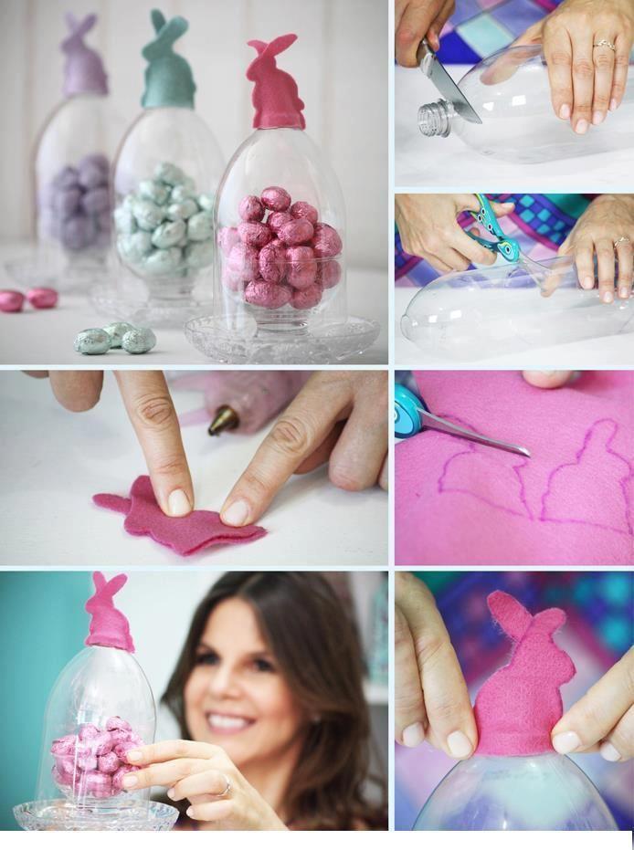 DIY Easter Plastic Bottle Ornament