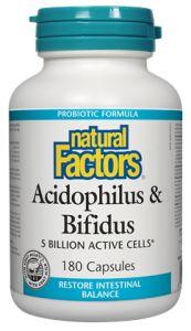 Acidophilus & Bifidus - Natural Factors
