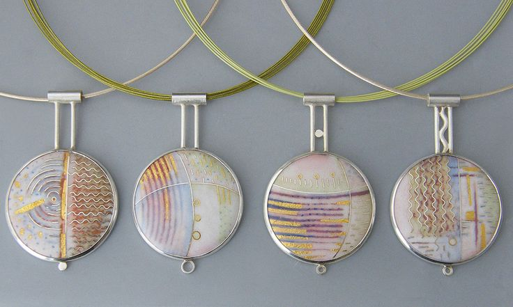 Jewellery - RUTH BALL  >  enamel + design