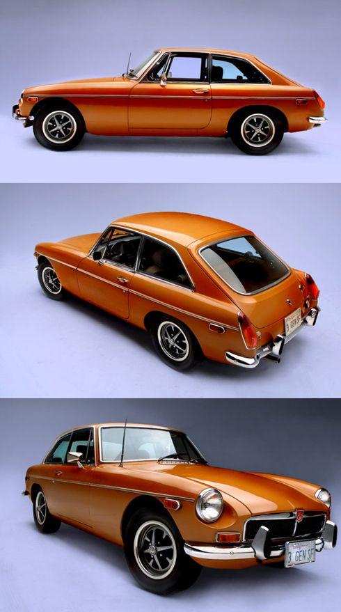 A thing of beauty and possibly the only car that should be orange