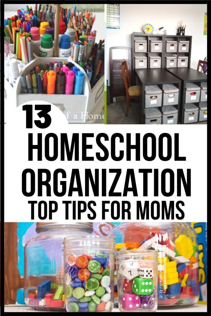 13 Insanely Useful Homeschool Organization Ideas Homeschool Organization Homeschool Organization