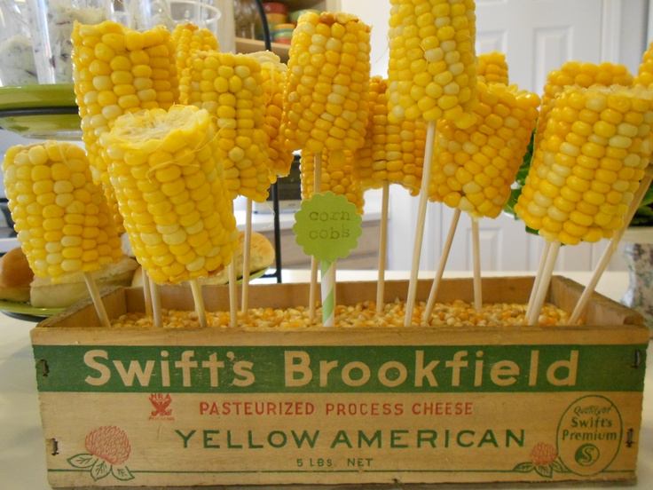 how to serve corn on the cob to a crowd