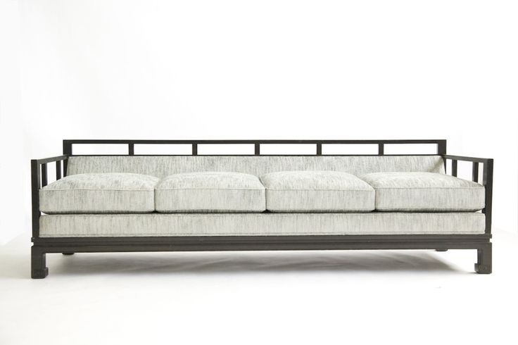 Baker Four-Seat Sofa by Michael Taylor