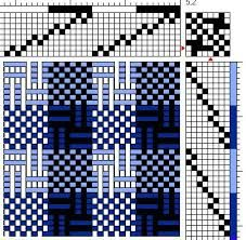 Image result for deflected double weave patterns