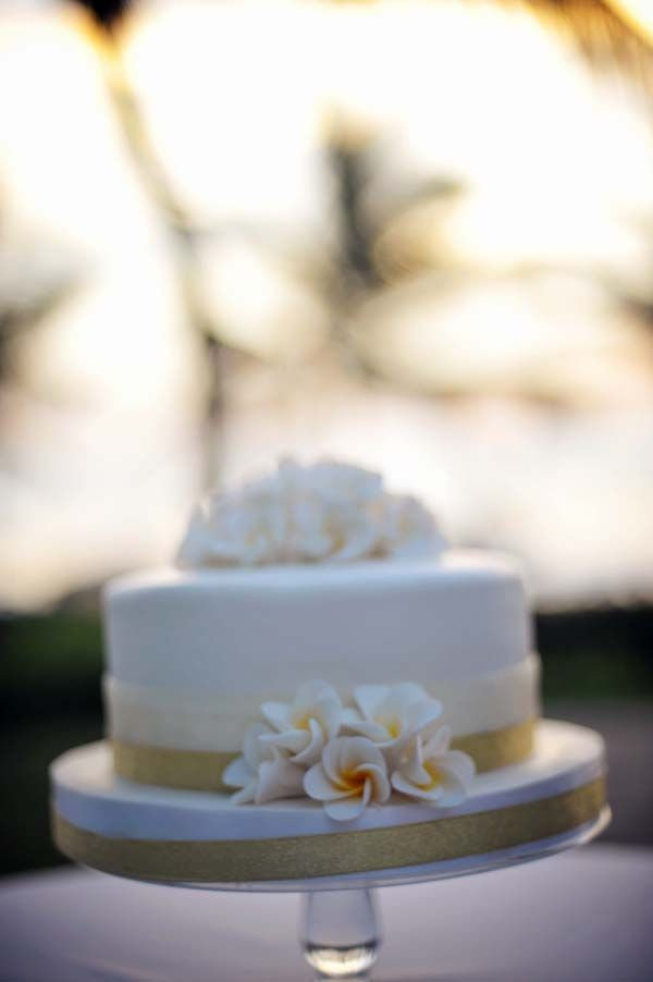 Single Tiered Cake