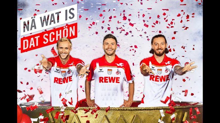 Der 1. FC Köln ganz jeck: Sonder-Trikot zu Karneval #Sport_Gesundheit #1_FC_Köln #Alexander_Wehrle #Bilder #Edition