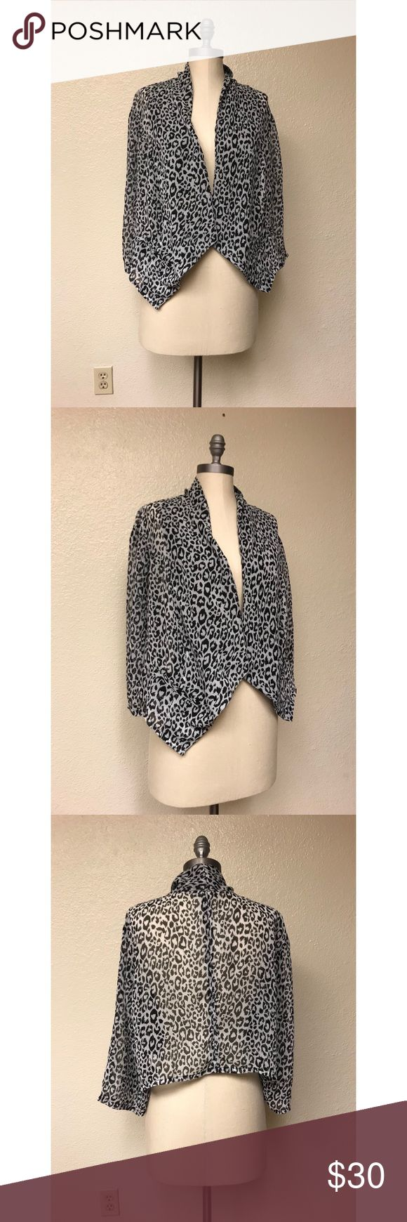 ❤️Torrid Leopard Cardigan❤️ Excellent condition. Size XL. No rips, stains or tears. torrid Sweaters Cardigans