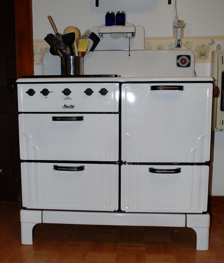 Chef Kitchen Appliances: 444 Best Vintage: Stoves Images On Pinterest