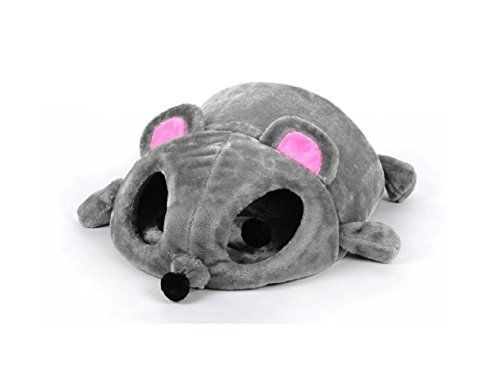 Product Information Name:Mouse Shape bed Material:Fur+spouge+Oxford cloth Good sleep and fun ~ big eyes rat's nest Big mouse very cute, but there are many functions. Big rats pp can be opened to facilitate the kids got bored, but also as a cat playing tunnels oh Nest in the rat, the quiet... more details available at https://perfect-gifts.bestselleroutlets.com/gifts-for-pets/for-cats/product-review-for-hot-2017-grey-mouse-shape-bed-for-small-cats-dogs-cave-bed-removable-
