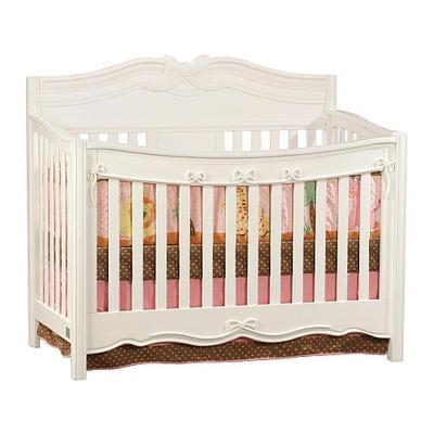 Disney Princess Enchanted Convertible Crib White