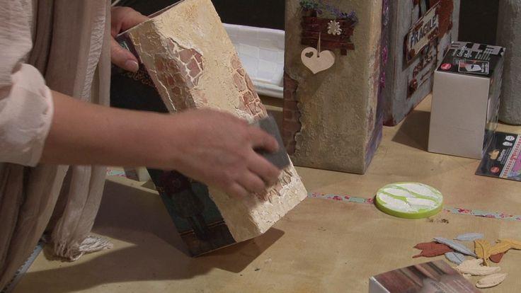 Afroditi's hobby  Δημιουργία effect πέτρας με venezia