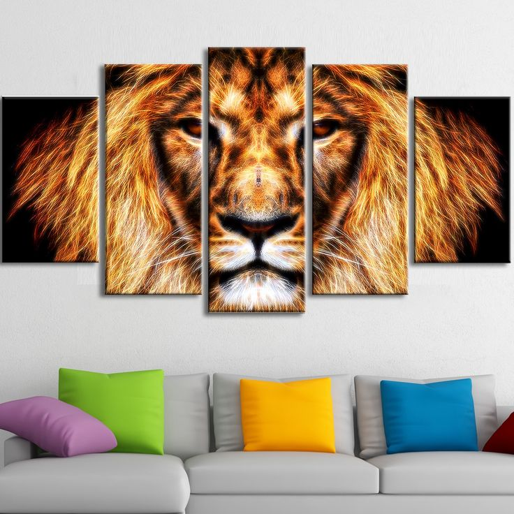 <li>Hear Him Roar - Lion Animal Canvas - Multiple Sizes</li> <li>Product type: Gallery wrapped canvas</li> <li>Style: Contemporary</li>
