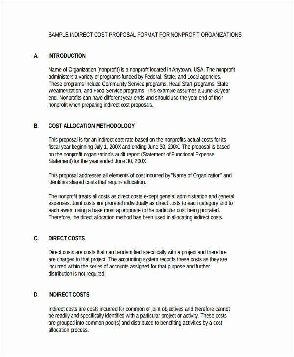 Non Profit Proposal Template Fresh Non Profit Business Plan Template In 2021 Proposal Templates Business Proposal Template Event Proposal Template