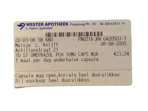 Meisje L. Knijff, 'Apotheek #4'   (niet goed gespeld, wel lief)