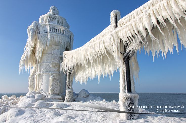 Photograph St. Joesph Lighthouse in Winter by Craig Sterken on 500px
