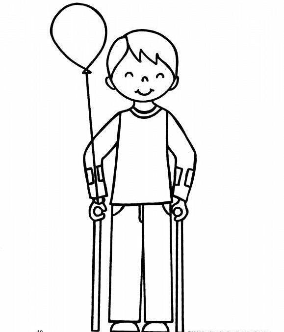 Engelliler Haftası Boyama Sayfaları Boyama Sayfasi Coloring