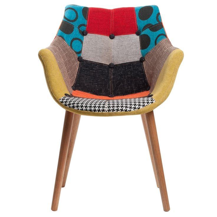 Krzesło ZUIVER patchwork - kolorowe Cena: 899 zł