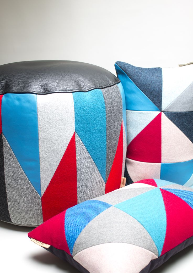 Pouf and pillows www.etsy.com/shop/palsbyognash