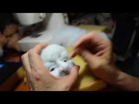 мастер класс по изготовлению скульптурной -текстильной куклы ч.5 - YouTube