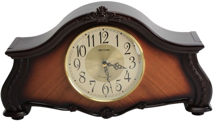 -Beautiful Rhythm Table Clock with Westminster-Chime  -wooden Case  -SIP -Sound In Place-  Chime & Melodie  -4 x 4 WESTMINSTER  -HOURLY WESTMINSTER  -16 MELODIES  -3 X-mas SONGS  -automatic Night-shut-off PM11:00-AM5:45  -24Hr ON  -Made in Japan  -2 Years Guarantee  -Batteries: 2 standard
