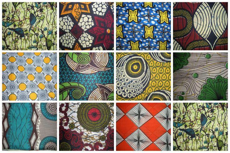 Thamani Fashion koopt alleen batik stoffen die in Afrika worden gemaakt.