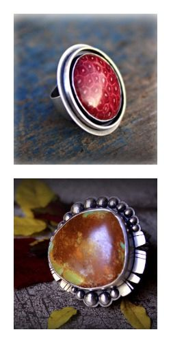 Richard Salley is teaching at ArtBliss 2013! I really want to learn how to make this bezel set ring.