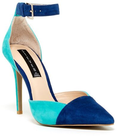 Steve Madden Steven By Winter Ankle Strap Pump on shopstyle.com