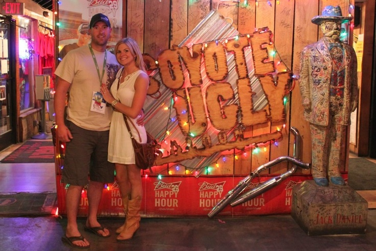 Coyote Ugly - Nashville Tennessee  A check my the bucket list :)