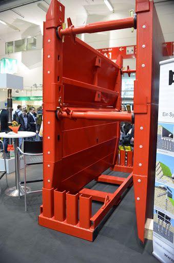 Strongbox by Ischebeck - sistemul este modular si permite adancime a sapaturii de pana la 7metri. www.blackbull.com.ro