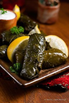 Nancy Lopez-McHugh with a delicious Middle Eastern treat for your next meze…