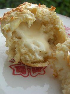 muffins emmenthal coeur coulant vache qui rit - LE PLAISIR DE GOURMANDISE
