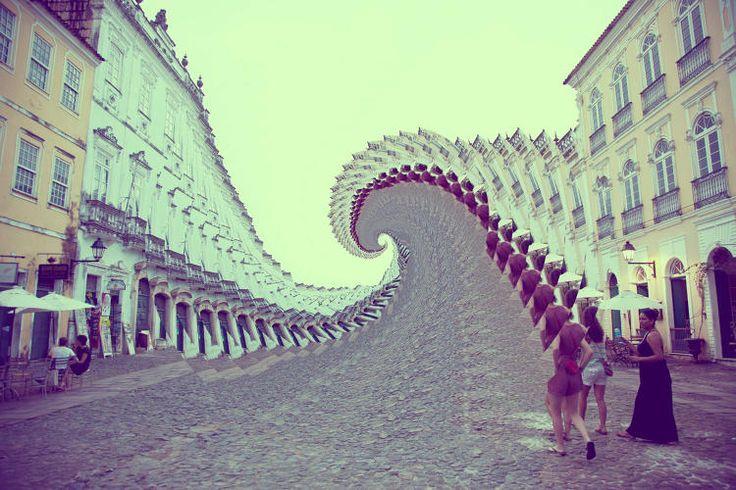 Conheça as incríveis edições com formas geométricas e fractais de David Copithorne. | ::Tutoriais Photoshop::