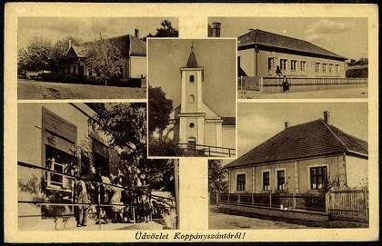 Koppányszántó   Képeslapok   Hungaricana
