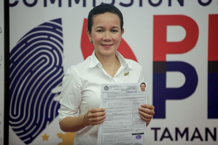 Tatad, in his motion, said Poe cannot run for president next year because she is not a natural-born Filipino and she failed to meet the 10-year residency requirement for candidates.